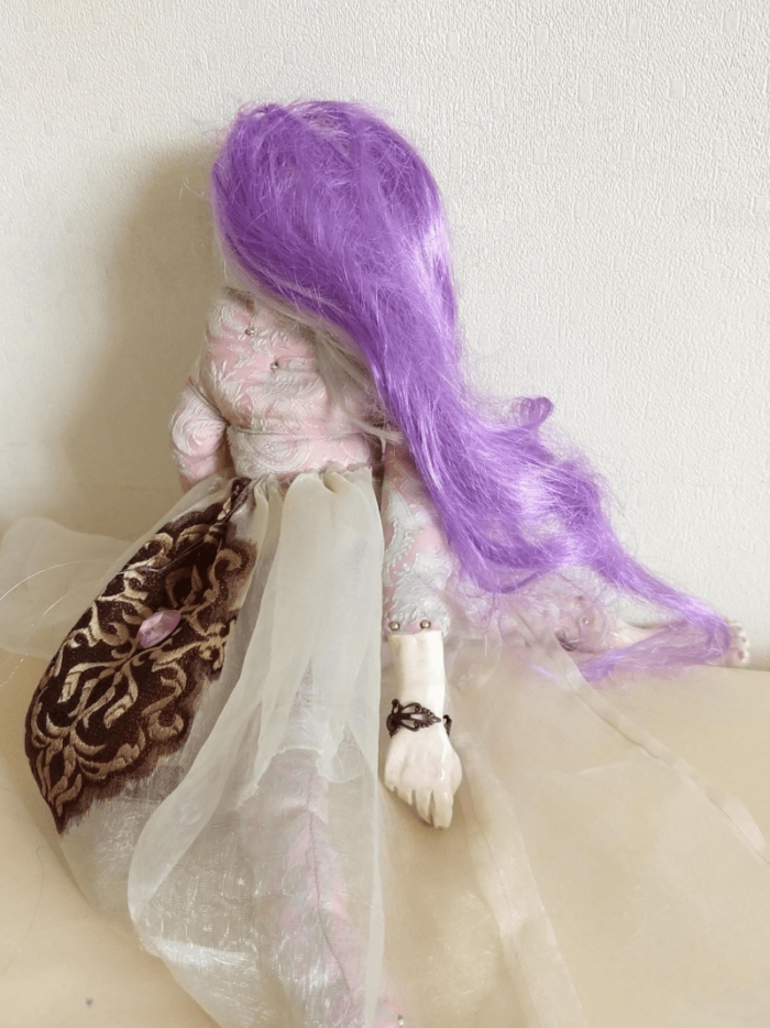 Diana doll by ursula aavasalu tigukass