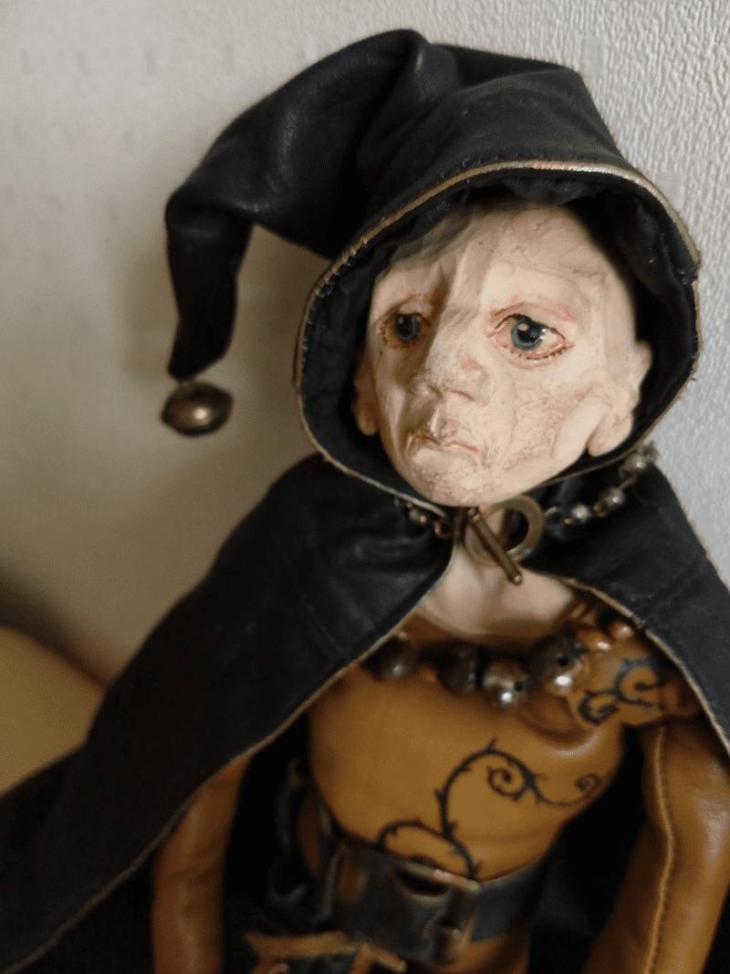 Frederik doll by ursula aavasalu tigukass