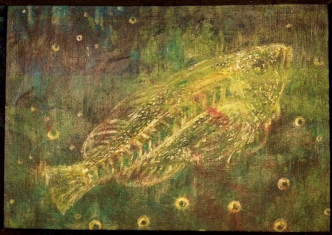 big fish oil painting by mai aavasalu tigukass