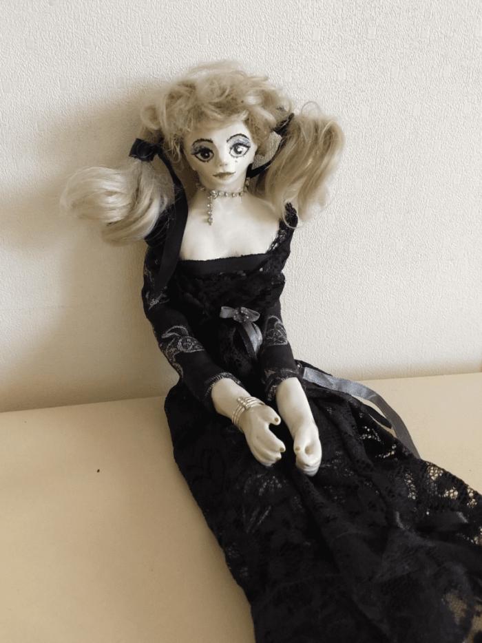 Nellie doll by ursula aavasalu tigukass