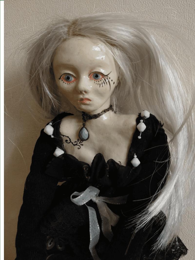 Tiina doll by ursula aavasalu tigukass