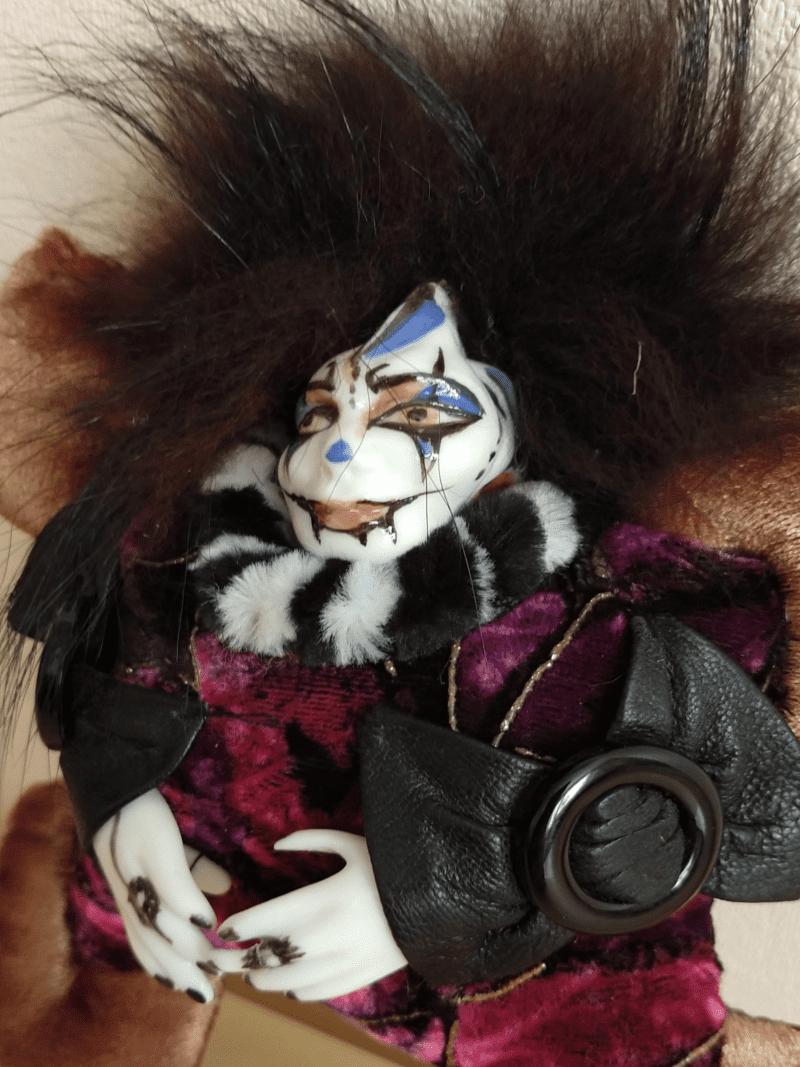 Tondu the clown doll by mai aavasalu tigukass