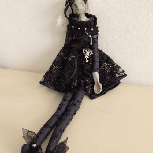 Yekaterina the ballerina doll by ursula aavasalu tigukass