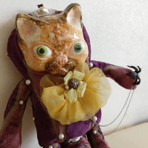 Zoltan the cat doll 01 by ursula aavasalu tigukass