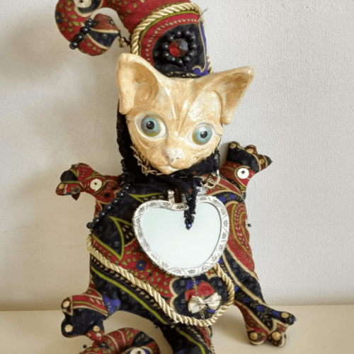 felix the cat doll by ursula aavasalu tigukass