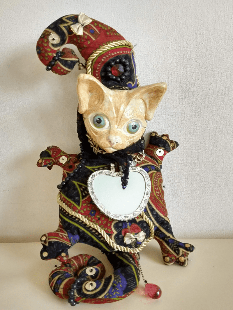 felix the cat doll by ursula aavasalu tigukass