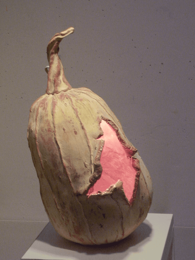 ceramic pumpkin lamp 1 by ursula aavasalu tigukass 1