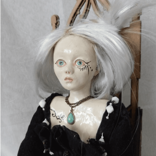 tiina the overthinker doll by ursula aavasalu tigukass