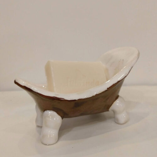 brown bathtub by ursula aavasalu tigukass