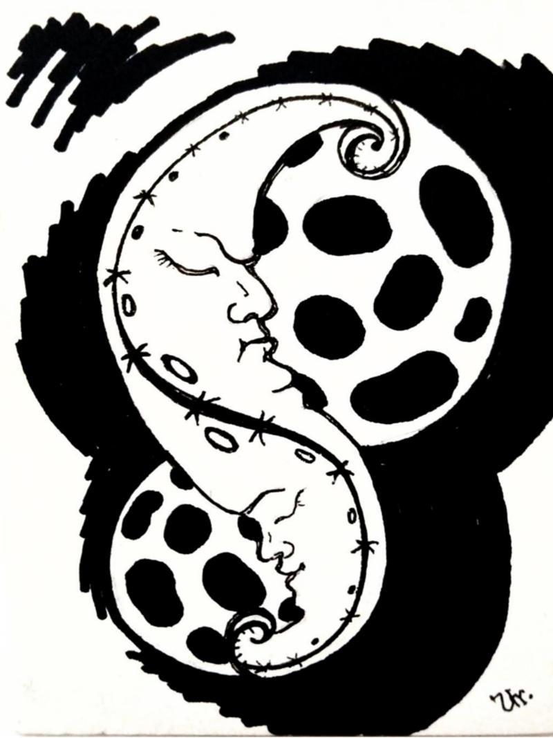 doublemoon by ursula aavasalu tigukass