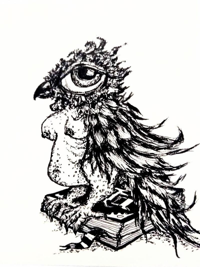 librarybird by ursula aavasalu tigukass