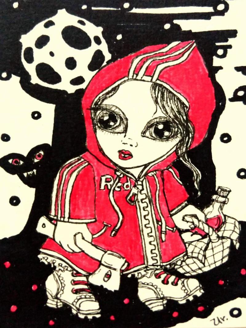 little red ridinghood by ursula aavasalu tigukass