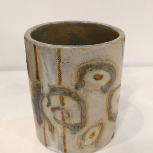 mug with lizards 2 by ursula aavasalu tigukass