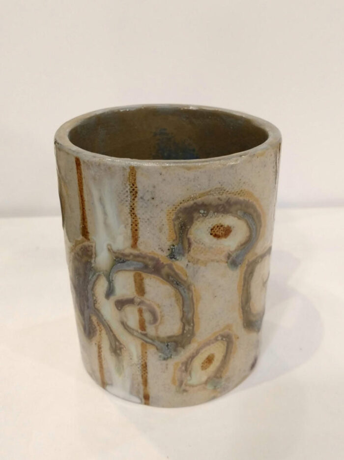 mug with lizards 2 by ursula aavasalu tigukass