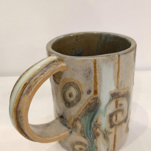 mug with lizards by ursula aavasalu tigukass