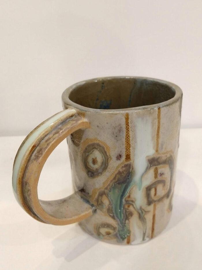 mug with lizards by ursula aavasalu tigukass