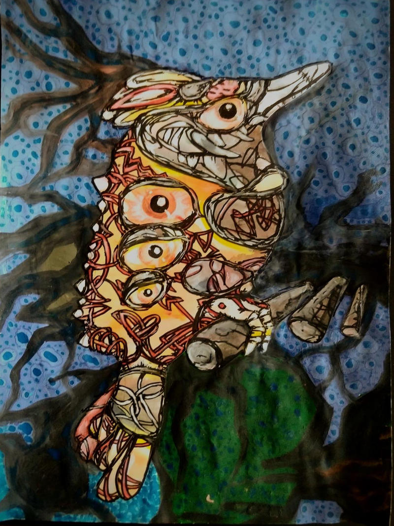 vigilant bird by ursula aavasalu tigukass