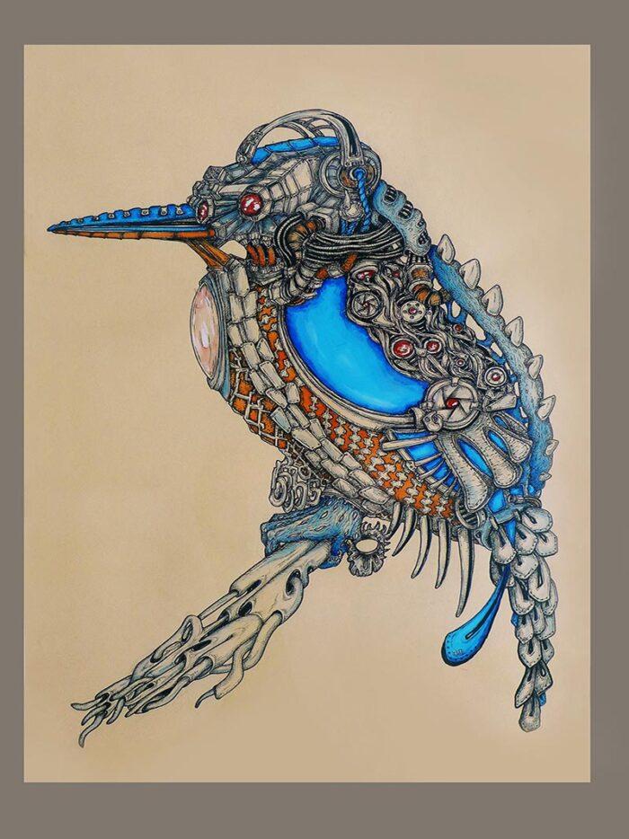 big kingfisher by ursula aavasalu tigukass