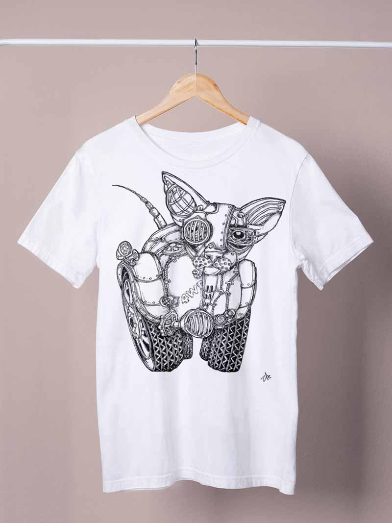 4wd cat white shirt by ursula aavasalu tigukass