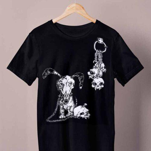black watchdog shirt by ursula aavasalu tigukass