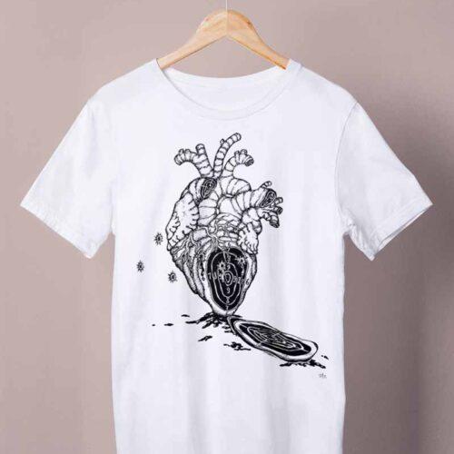 shot in the heart shirt by ursula aavasalu tigukass