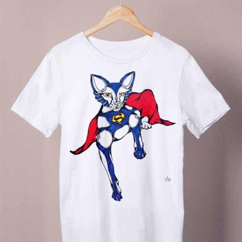 supercat white shirt by ursula aavasalu tigukass