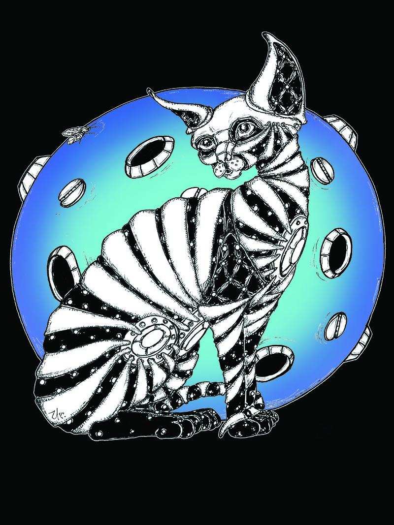 blue moon cat by ursula aavasalu tigukass