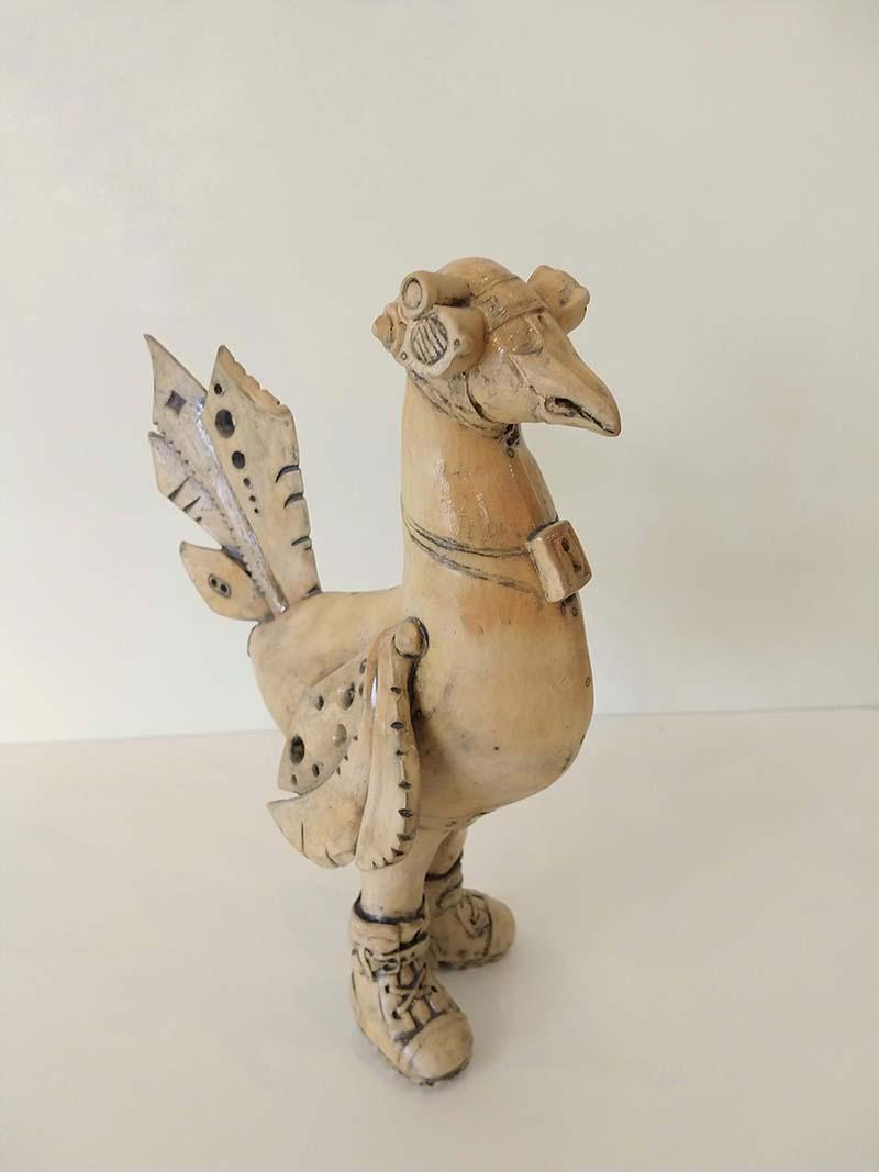 steampunk chicken 4 by ursula aavasalu tigukass